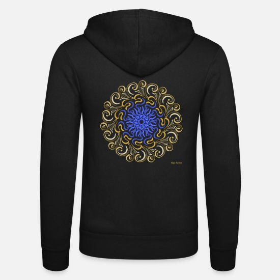Shield Hoodies & Sweatshirts - Celtic Shield - Celt Shield (Shield for Heroes) - Unisex Zip Hoodie black