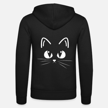 Designs Cat design - Unisex Zip Hoodie