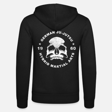 Mixed Martial Arts Niemieckie Jujutso Mixed Martial Arts - Bluza rozpinana z kapturem unisex