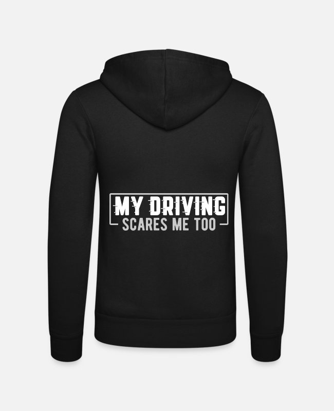 Competition Hoodies & Sweatshirts - my driving, street racing, tuning, motorsport - Unisex Zip Hoodie black