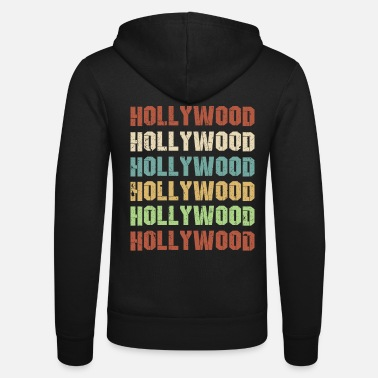 Hollywood Hollywood - Unisex Zip Hoodie