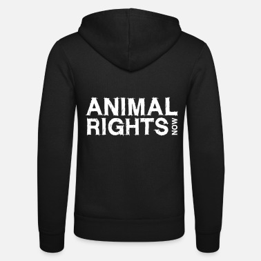 Animal ANIMAL RIGHTS NOW_01 - Unisex Zip Hoodie
