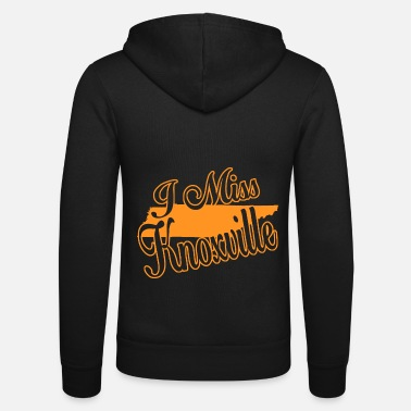 Knoxville i miss knoxville - Unisex Zip Hoodie
