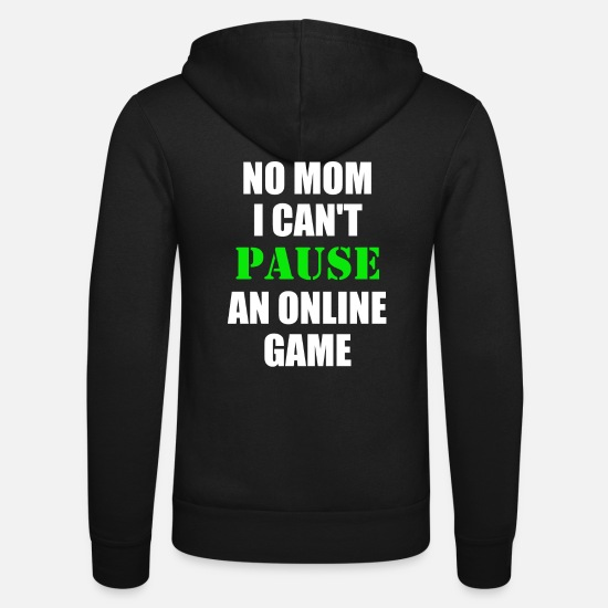 Game Hoodies & Sweatshirts - Online Game - Unisex Zip Hoodie black
