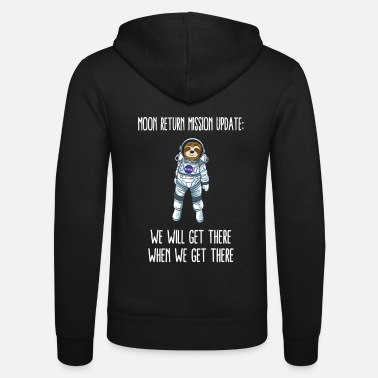 Nasa Design NASA design for Kids | Sloth Astronaut - Unisex Zip Hoodie
