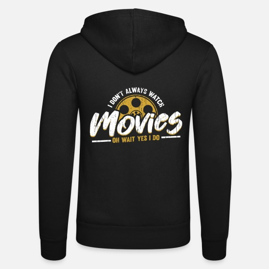 Gift Idea Hoodies & Sweatshirts - Films see gift - Unisex Zip Hoodie black