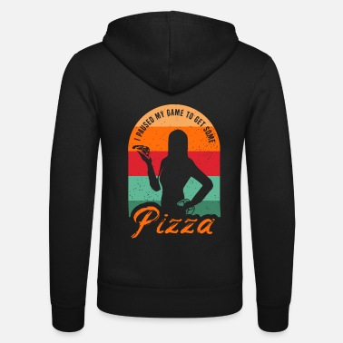 Gaming Pizza Gamer Girl Gaming Pizza Gamer Girl - Unisex Zip Hoodie
