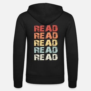 Reading Read Read - Unisex Zip Hoodie