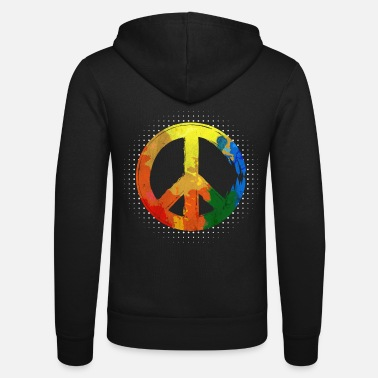 Movement Hippie Hippie Movement Peace Movement Peace - Zip hoodie unisex