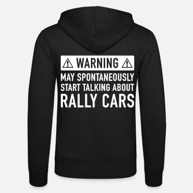 Rally Funny Rally Car Gift Idea - Unisex Zip Hoodie