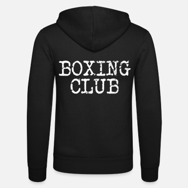 Boxing Gloves Boxing Club Boxing Club - Unisex Zip Hoodie