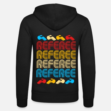 Yellow Referee Referee Yellow Red Card Costume Ball - Unisex Zip Hoodie