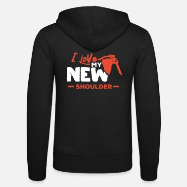Rehabb Shoulder Replacement Post New Surgery Gift - Unisex Zip Hoodie