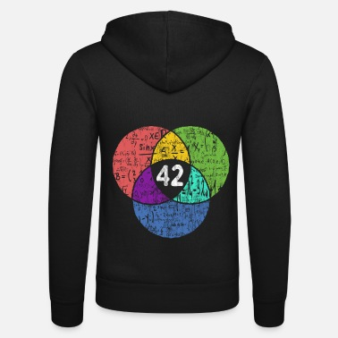 Geek 42 - Nerd Geek - science fiction - Unisex Zip Hoodie