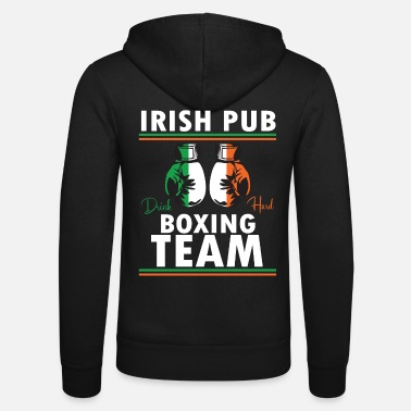Club Ireland Box Club - drinking - Unisex Zip Hoodie