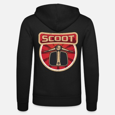 Scooter Scooter propaganda | Moped Italy two-wheel motorcycle - Unisex Zip Hoodie