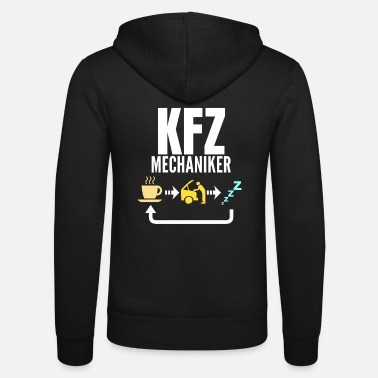 Mechaniker KFZ Mechaniker - Unisex Kapuzenjacke