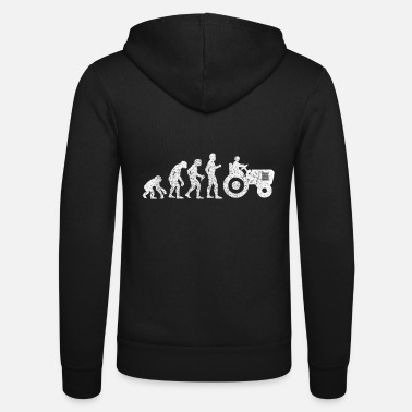 Evolution Farmer evolution - Unisex Zip Hoodie