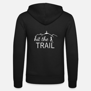 Mountain Running Mountain running - Unisex Zip Hoodie