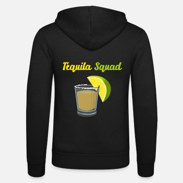 Tequila Tequila Alcohol Drink Lime Party Mexico Shots - Unisex Zip Hoodie