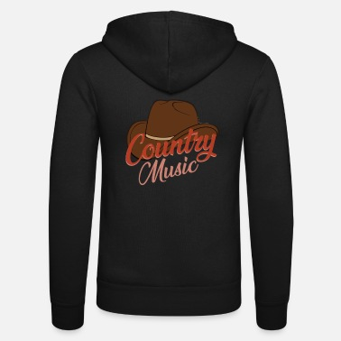 Country Música country - Chaqueta con capucha unisex
