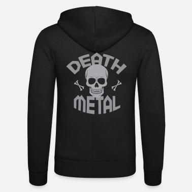 Death Metal Death Metal - Unisex Hooded Jacket by Bella + Canvas