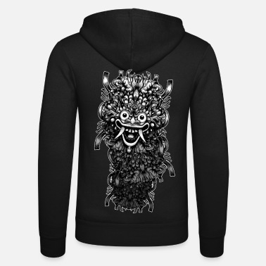 Design Contest Winners Bali Mask - Unisex Zip Hoodie