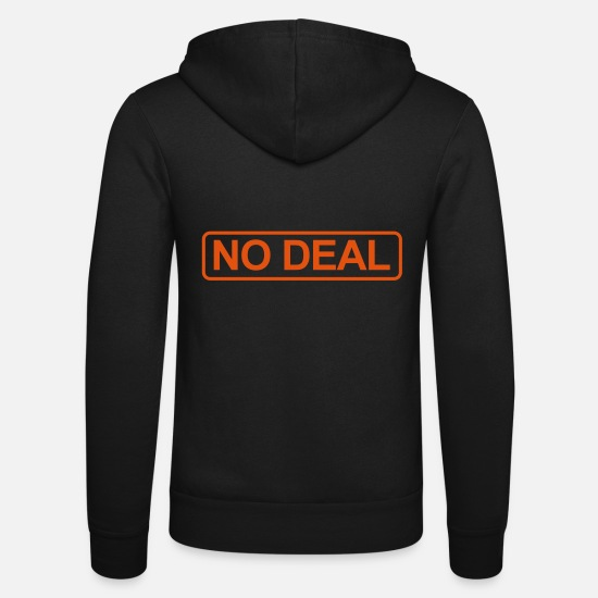 Eu Hoodies & Sweatshirts - Brexit No Deal - Unisex Zip Hoodie black