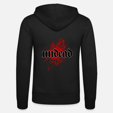 Undead Undead Undead - Unisex Hooded Jacket by Bella + Canvas
