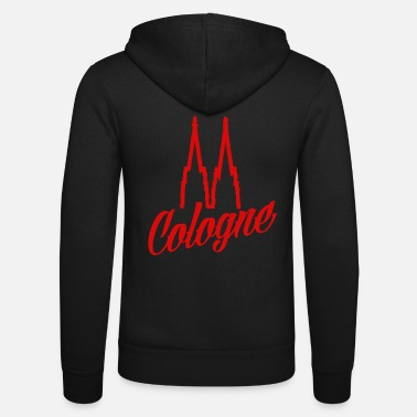 Kölle Cologne Cathedral - Cologne red - Unisex Zip Hoodie