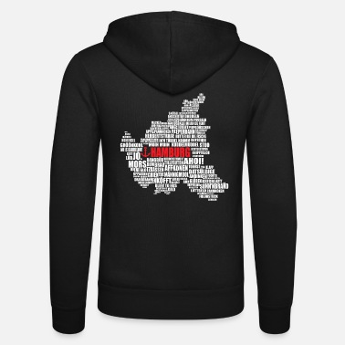 Low German Hamburg Low German Shirt - Unisex Zip Hoodie