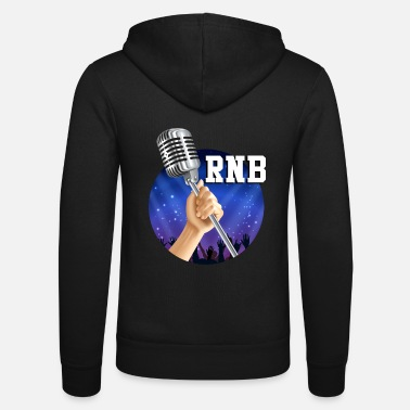 RNB microphone - Unisex Hooded Jacket by Bella + Canvas