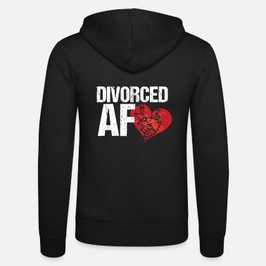 Divorce Enfin divorcé! Divorce divorce - Veste à capuche unisexe Bella + Canvas