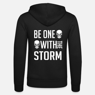 Storm Shadow Be one with the storm. Be one with the storm. - Unisex Zip Hoodie