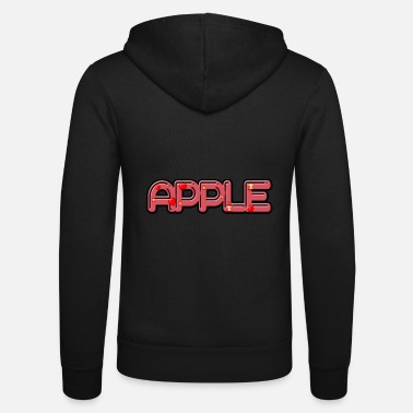 Apples Apple - apple - Unisex Zip Hoodie