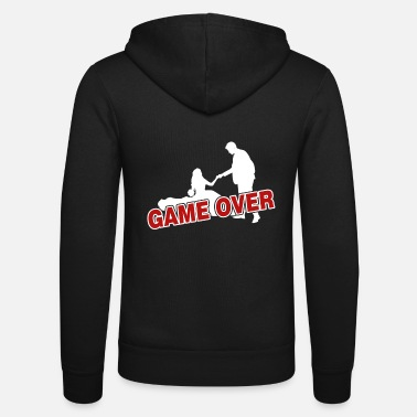 Over Game over - the game is over - Unisex Zip Hoodie