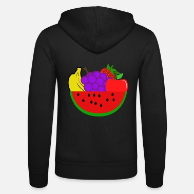 Fruit Fruits - fruits - Veste à capuche unisexe
