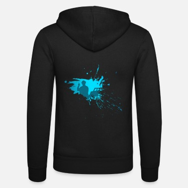 Sit Painter sit - painter sitting - Unisex Zip Hoodie