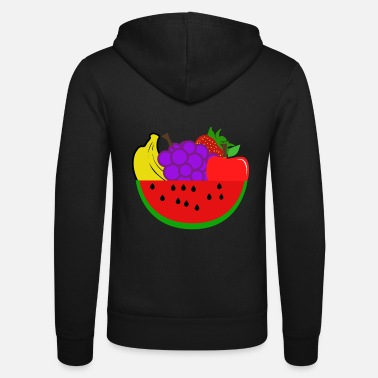 Fruit Fruits - fruits - Unisex Zip Hoodie
