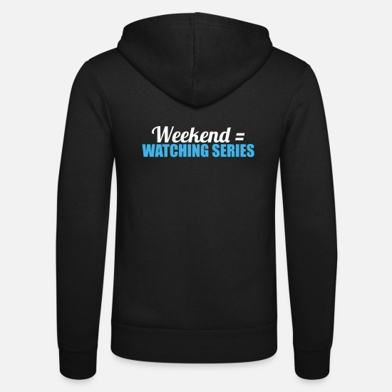 Junkie Sweat-shirts - weekend - Veste à capuche unisexe noir