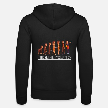 Mobile Evolution Photo Mobile Phone Women Development - Unisex Zip Hoodie
