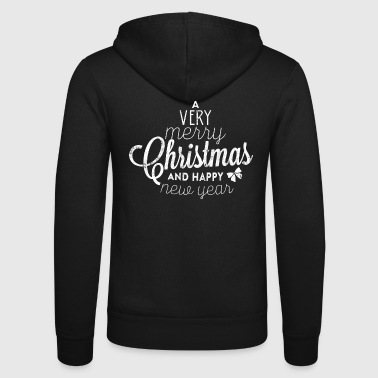 MERRY CHRISTMAS Xmas Christmas Gifts Shirt - Unisex Hooded Jacket by Bella + Canvas