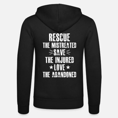 Animal Welfare Animal Welfare Animal Rights Tshirt - Unisex Zip Hoodie