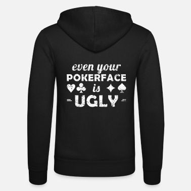 Las Vegas Pokerface Poker Casino Vegas Shirt - Unisex zip hoodie