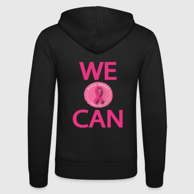 Fight against breast cancer - Unisex Hooded Jacket by Bella + Canvas