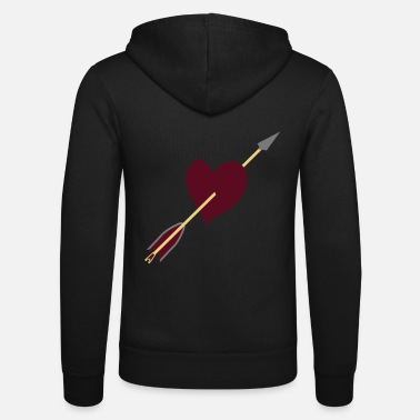 Love Struck Love struck design by patjila - Unisex Zip Hoodie