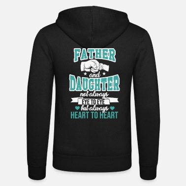 Daughter father and daughter - Unisex Zip Hoodie