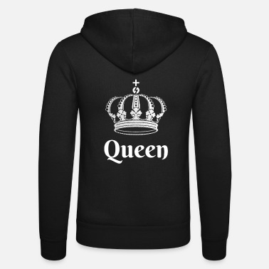 King King Queen Partnerlook - Unisex Kapuzenjacke