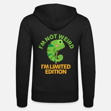 Limited I am limited edition - chameleon - Unisex Zip Hoodie