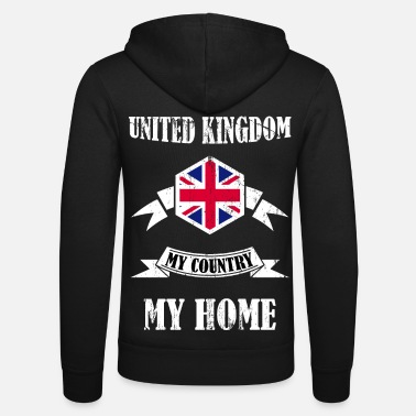 Kingdom England United Kingdom United Kingdom Gift - Unisex Zip Hoodie